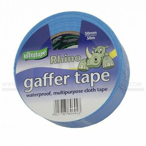 Ultratape Rhino Gaffer Tape 50mm x 10mtr Blue